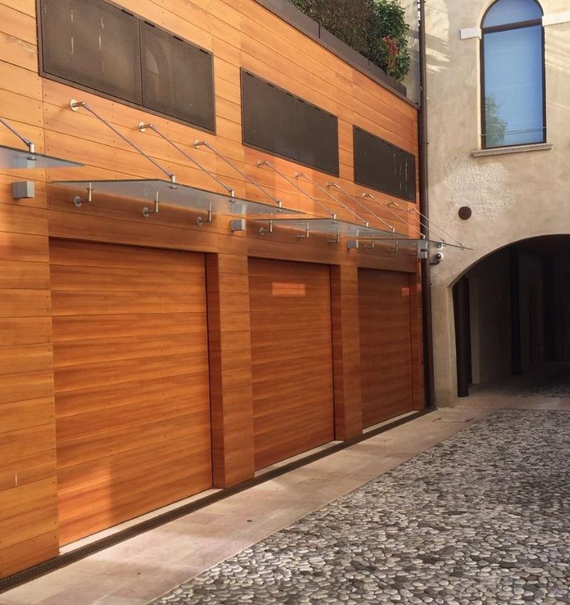 Porte sezionali per garage Aprico | NOVA SISTEM BERGAMO