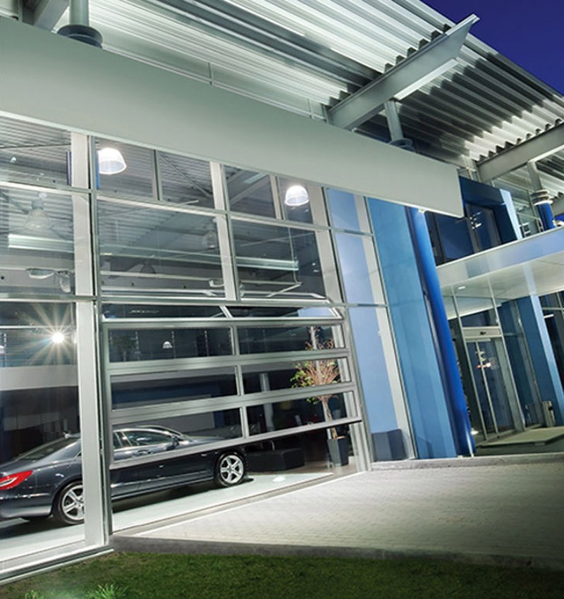 Porte sezionali industriali Ryterna - Full Vision | NOVA SISTEM