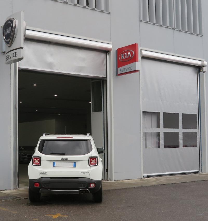 Porte rapide con innovativa struttura in alluminio | NOVA SISTEM BERGAMO