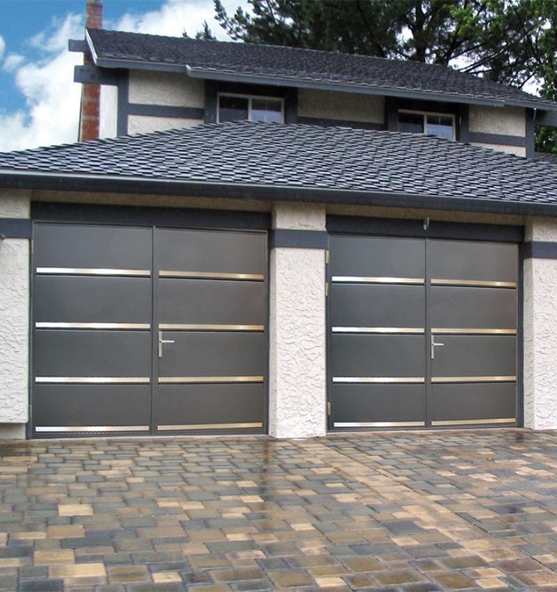 Porta da garage a doppia anta Ryterna | NOVA SISTEM