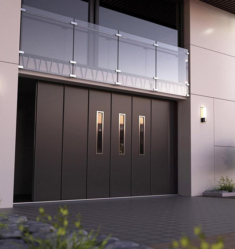 Porte sezionali industriali Ryterna - scorrimento laterale | NOVA SISTEM